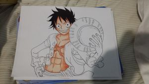 Monkey D. Luffy by usui-pm