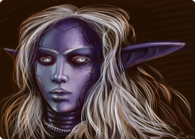 Another nightelf by Zxoqwikl