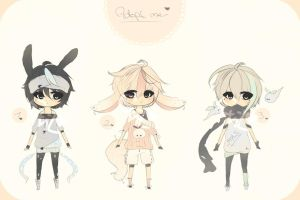 :Adoptables [closed] by Pii-chuu