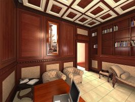 Haddad classic office 02 by solowarrior