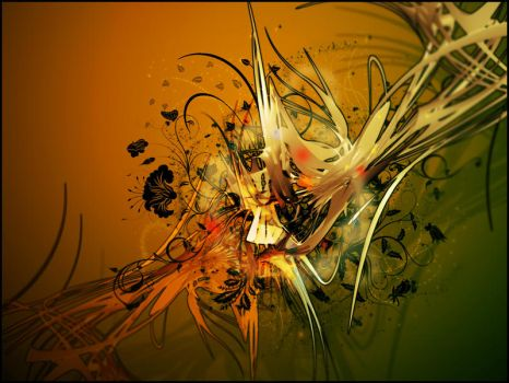 Abstract Explosion by KateBloomfield