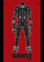 GANTZ suit by warlock1291