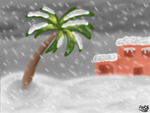 It's snowing in Florida by Kittylover9399