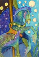 CAROUSEL HORSE - Hippocampus by O-Tripp