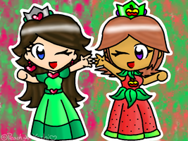 GA: The Fruity Princesses :D by Peach-X-Yoshi