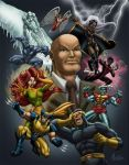 X-MEN by HEARTBREAKKID