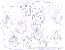 cutman doodles by Nintendrawer