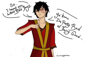 Zuko's Pick up Lines Get All The Ladies by CuriouslyXinlove