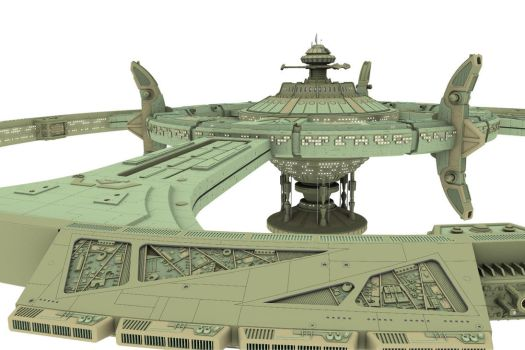 Deep Space 9 W.I.P. 5 by gpdesigner