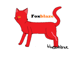 Foxblaze :comm: by FlamingOak