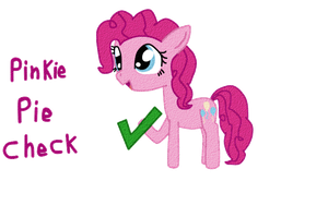 Pinkie Pie : Check by Yasmeen-444