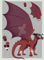 Red Dragon Adopt [CLOSED] by Lamp-P0st