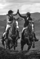 Hunting Fun by EquusAustralia