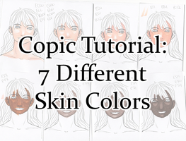 Copic Tutorial: 7 Diff. Skin Colors (Video!) by sambeawesome