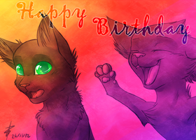 Happy Birthday Stercky ~ by Pandoraz-Kyle