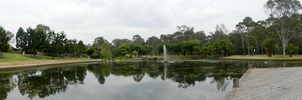Panorama : Nurringingy National Park by Solacen
