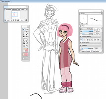 lazy town wip by popopolice