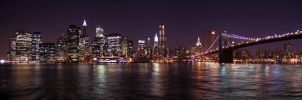 Manhattan by Night by madko