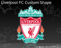 Liverpool FC Custom Shape by El-Torres