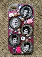 One Direction phone case by ciencianalove