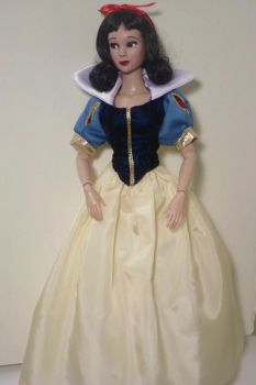 Tonner Doll Repaint-Snow White (full-length view) by R-Marie