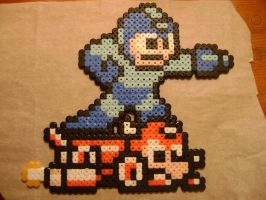 Mega Man and Rush by PsychoLexx