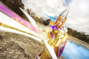 League of Legends: Leona by JoviClaire