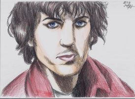 Syd Barrett by BlueRisingSun