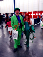 Comicpalooza 2012 - Riddler and Ivy by Imperius-Rex