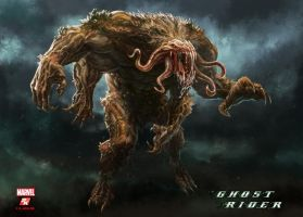 Ghost Rider - Muck Monster by PeterLumby