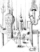 Oliver's Odd Jobs: Chimney Sweep by Jcoon