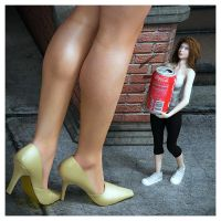 I met a gigantic woman today. by Fierce-Invalid