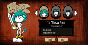 Don't Starve .:Leo Braveheart:. by SonicPikapal