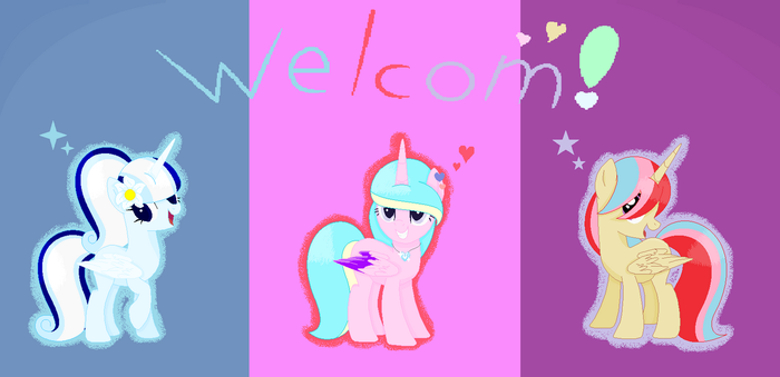 Welcome!!! by MelaRainbow-Bases