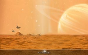 Alien Desert by Catalin-Geani
