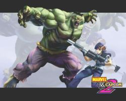 Marvel Vs Capcom 2 Wallpaper by caioenzo