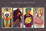 Loup-Garou Cards Designs by mlle-annette