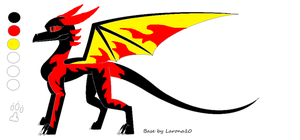 Corra Eternal Flame form by QuestionTheDragon