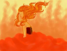 Flame Princess by isoare