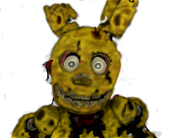 SpringTrap Online Drawing by ForTheLoveOfPG