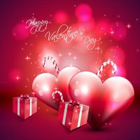 Valentines-Day-Vector-Red-BackgroundValentine by vectorbackgrounds