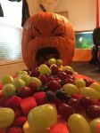Puking pumpkin by mtnboy64