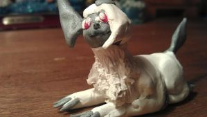 Clay Absol 3 by KyuremGirl