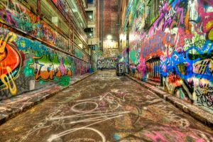 Hoiser Lane HDR by DanielleMiner