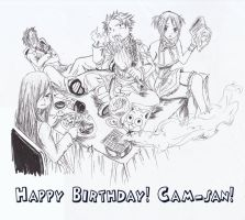 Happy Birthday! Cam-san! by rosenkreuss