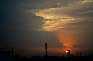 Kolkata Skyline by Sumit1979