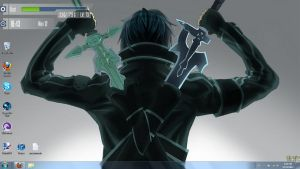 Desktop Setup: Sword Art Online by SmallChild3