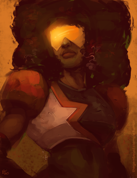 Garnet speedpaint by Rhandi-Mask