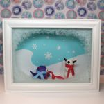 Snowman Shadowbox by TimidMonsters