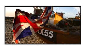 Hastings fishing boat by yellownoise